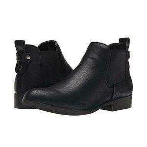Madden Girl Draaft Black Ankle Boot